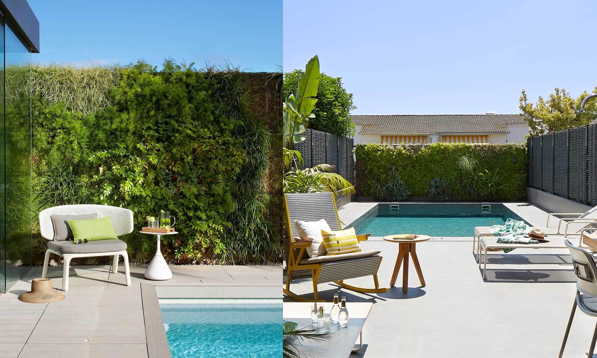 Sunny vertical garden | Molins Design interior designers