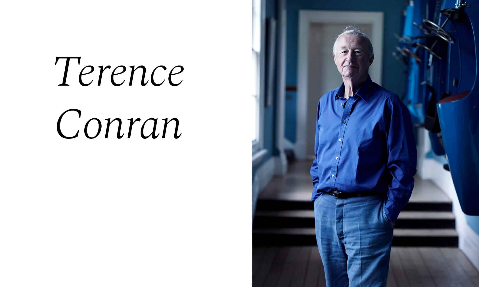 Terence Conran, interiorista de lujo en Barcelona