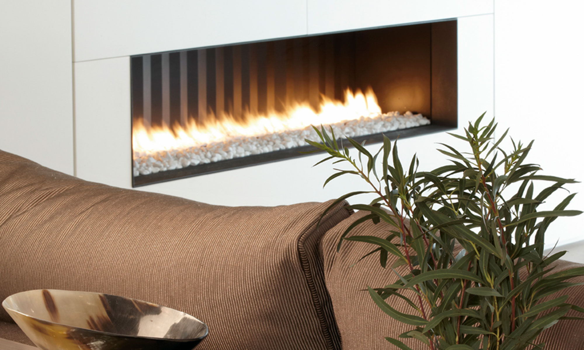 Fireplace design detail | Molins Design interior designers