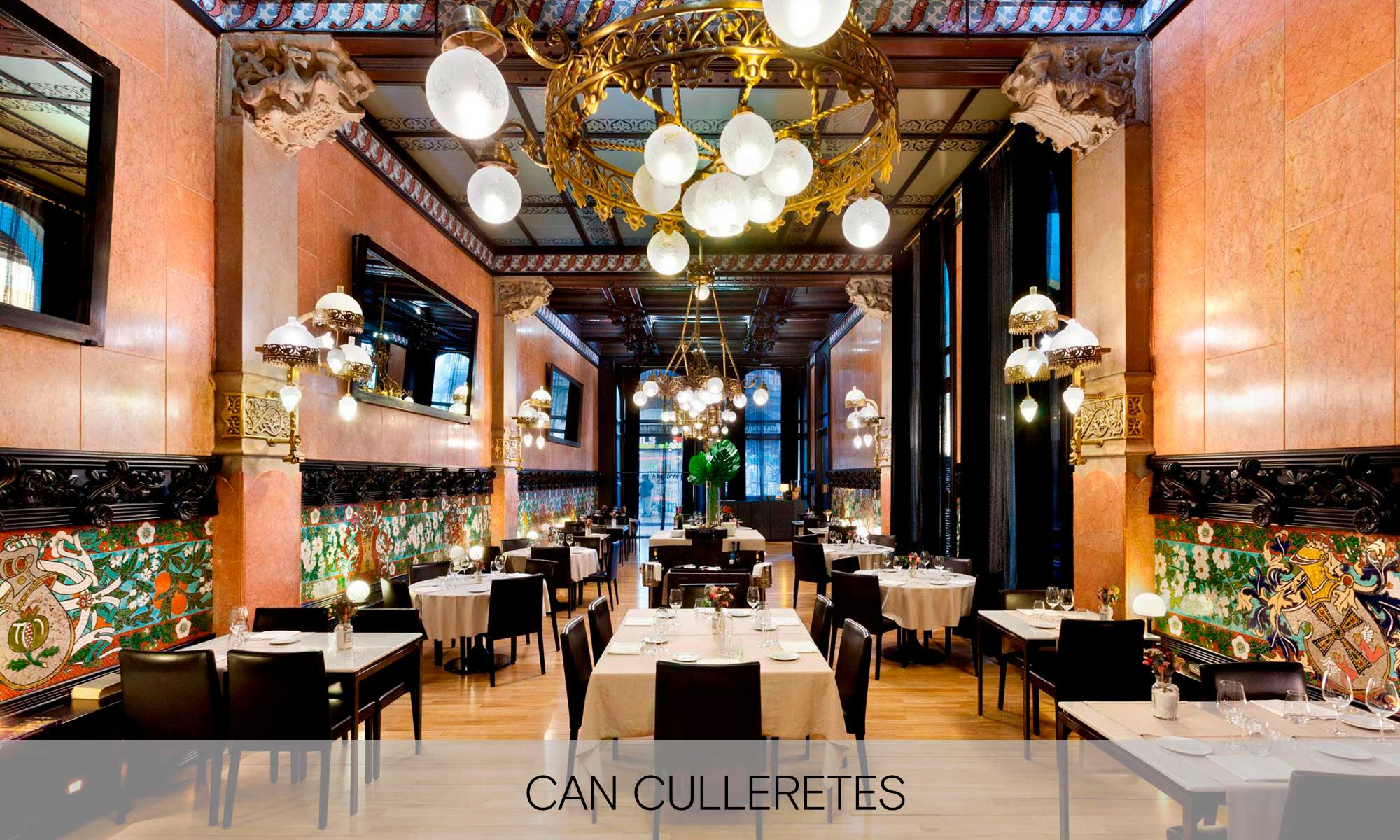 Historic bars of barcelona Can culleretes restaurant | Molins Design interior designers