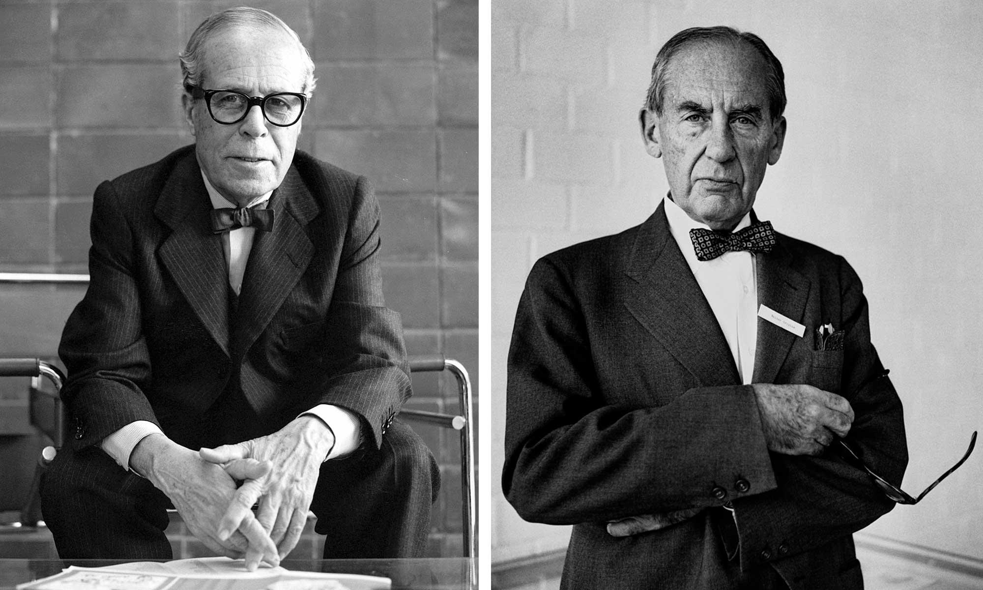 Walter Gropius y J. M Sert arquitectos bauhaus | Molins Design