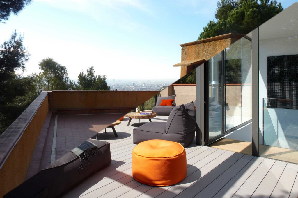 reforma terrassa chill out | Molins Design interioristes