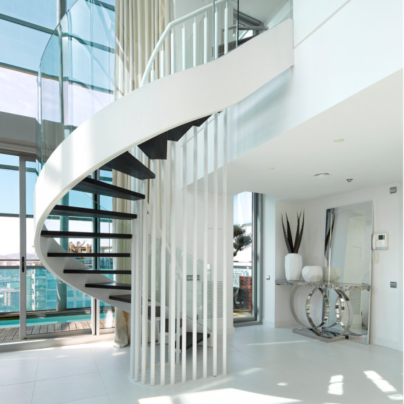 diseño de escaleras interiores | Molins Design intrioristas